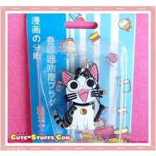 Kawaii 3 In 1 Cord Winder Dust Plug Charm Strap Set! Chi's Sweet Home Cat
