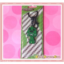 Kawaii Unique Large Minecraft Creeper Keychain  - Hooded Style