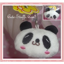Kawaii Plush Coin Purse Keychain Panda!