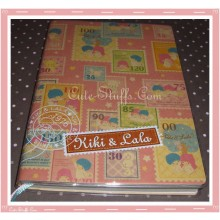 Little Twin Stars Kiki & Lala 2010 Planner & Address Book w/ Sticker Set