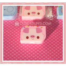 Kawaii Opaque Travel Lens Case or Trinket Box! - Pig
