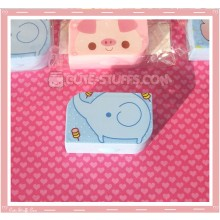 Kawaii Opaque Travel Lens Case or Trinket Box! - Elephant