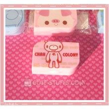 Kawaii Opaque Travel Lens Case or Trinket Box! - Gloomy Bear