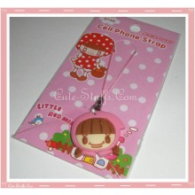 Kawaii Unique Riding Hood 3D Phone Strap Charm