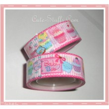 Kawaii Monokuro Boo Baby Deco Tape Pack - 2 pc!