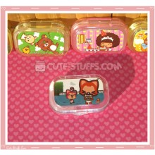 Kawaii Sparkle Travel Lens Case or Trinket Box! - Hyraxes Fox
