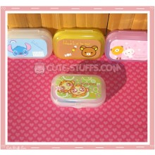 Kawaii Pastel Travel Lens Case or Trinket Box! - Yoyo Cici Monkey Green
