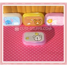 Kawaii Pastel Travel Lens Case or Trinket Box! - Metoo Bear