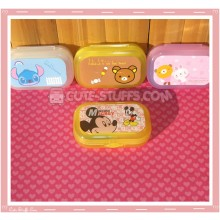 Kawaii Pastel Travel Lens Case or Trinket Box! - Mickey Mouse