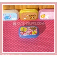 Kawaii Pastel Travel Lens Case or Trinket Box! - Spongebob Hearts