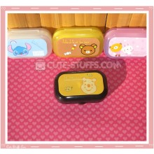 Kawaii Pastel Travel Lens Case or Trinket Box! - Winnie the Pooh Face