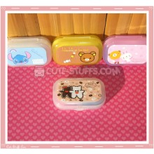 Kawaii Pastel Travel Lens Case or Trinket Box! - Stitched Bears