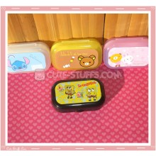 Kawaii Pastel Travel Lens Case or Trinket Box! - Spongebob w/ Gary and Patrick Yellow