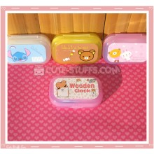 Kawaii Pastel Travel Lens Case or Trinket Box! - Hamutaro Hamster