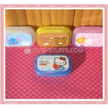 Kawaii Pastel Travel Lens Case or Trinket Box! - Hello Kitty White