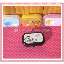 Kawaii Pastel Travel Lens Case or Trinket Box! - Yoyo Cici Monkey White