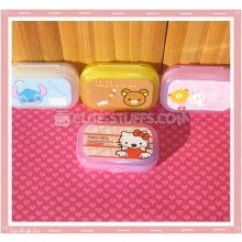 Kawaii Pastel Travel Lens Case or Trinket Box! - Hello Kitty Heart