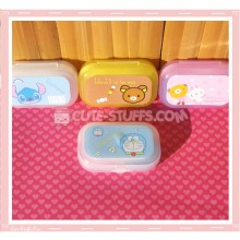 Kawaii Pastel Travel Lens Case or Trinket Box! - Doraemon