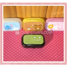 Kawaii Pastel Travel Lens Case or Trinket Box! - Kerori Frog