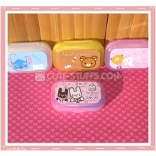 Kawaii Pastel Travel Lens Case or Trinket Box! - Stitched Bunnies