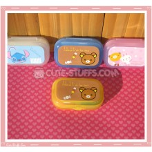 Kawaii Pastel Travel Lens Case or Trinket Box! - Rilakkuma