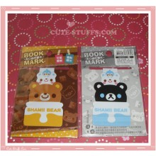 Kawaii Shamii Bear Double Sided Book Mark