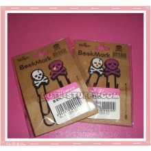 Kawaii Goth & Punk Style Book Mark Clips Set