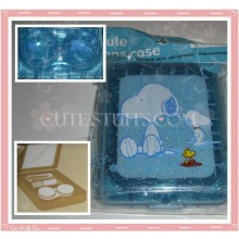 Kawaii Blue Snoopy Large Contact Lens Case