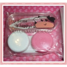 Kawaii Mini Travel Lens Case or Trinket Box! - Cow