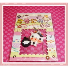 Kawaii Unique Cow Phone Strap! Full