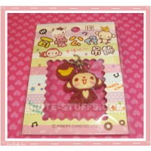 Kawaii Unique Monkey w/ Banana Phone Strap! Full