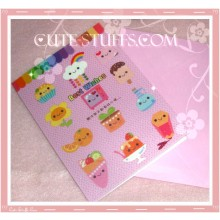 Kawaii Best Wishes Folding Card