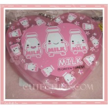 Kawaii Pink Heart Milk Pill or Trinket Box