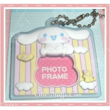 Sanrio Cinnamoroll Keychain Photo Frame - Clouds