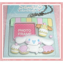 Sanrio Cinnamoroll Keychain Photo Frame - Sweets