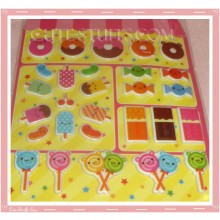 Kawaii Candy Shop Puffy Sticker Set