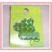 "Kawaii Clover ""Sweet Time"" Badge"