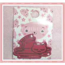 Kawaii Lazy Cat Pin Badge