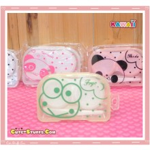 Kawaii Translucent Travel Lens Case or Trinket Box! - Keroppi Frog