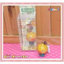 Kawaii Wood Series Dangle Dust Plug Charm! Chicken