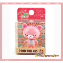 Kawaii Rare Good Friends Cat Collectable Bobble Head Mascot