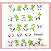 Rare Kawaii Nail Stickers! TarePanda!