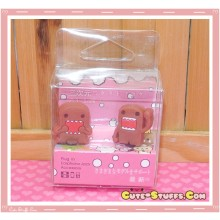 Kawaii 3.5mm Domo Kun Dust Plug Set Duo