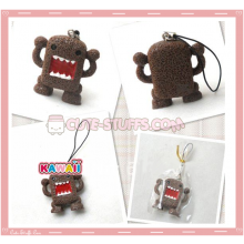 Kawaii Square Domo Kun Phone Charm!
