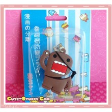 Kawaii 3 In 1 Cord Winder Dust Plug Charm Strap Set! Domo Kun