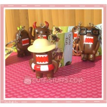 Kawaii Domo Kun Large Keychain - Raft