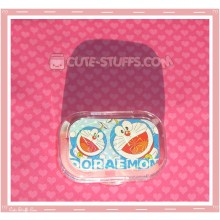 Kawaii Sparkle Travel Lens Case or Trinket Box! - Double Doraemon