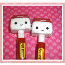 Kawaii Dark Red Milk Pen