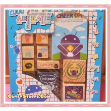 Kawaii Android Stamp Set