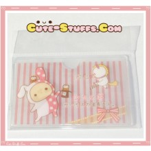 Kawaii San-X ID Card Holder - Sentimental Circus Shappo w/ Owls